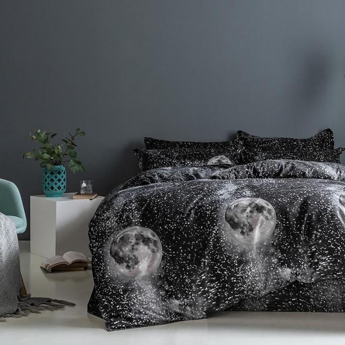 Galaxy Universe Sky Comforter Bedding Sets Duvet Covers Bed Sheets