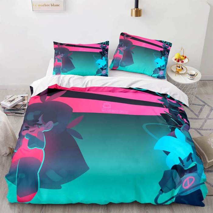 Friday Night Funkin Cosplay Bedding Sets Duvet Covers Bed Sheets
