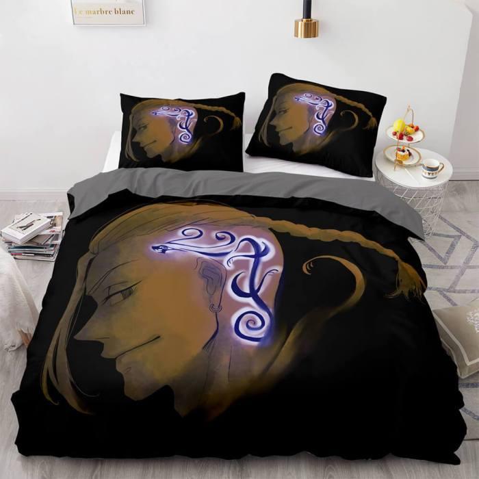 Tokyo Revengers Cosplay Bedding Set Duvet Cover Comforter Bed Sheets