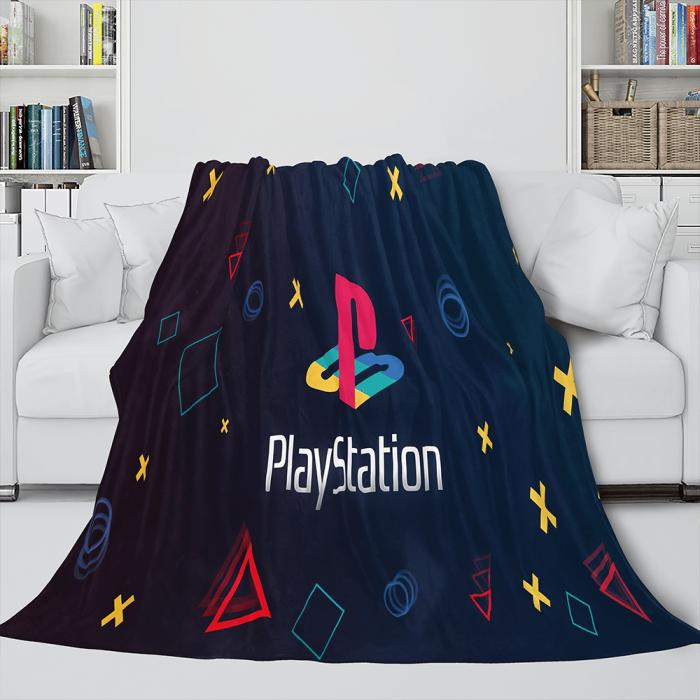 Ps4 Gamepad Flannel Blanket Throw Bedding Comforter Bedding Sets