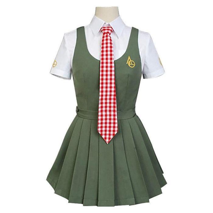Anime Danganronpa Koizumi Mahiru Cosplay Costumes Japanese Uniform Sailor Suit Dress Girls Clothing Halloween Stage Costumes