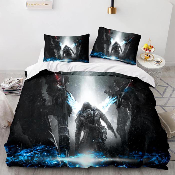Tom Clancy'S The Division Cosplay Comforter Bedding Set Duvet Covers