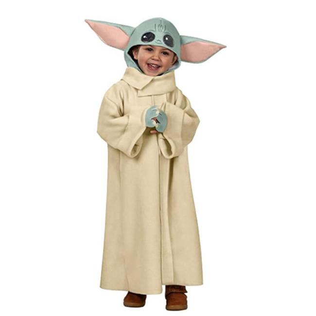 Halloween  Selling Arrive Cute Yoda-Baby Costume Carnival Birthday Party Christmas  Year Kids Anime Cosplay Funny 3-12Y