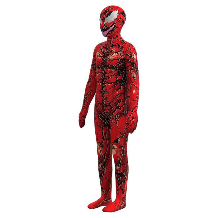 Venom: Let There Be Carnage Carnage Kids Children Halloween  Cosplay Costume