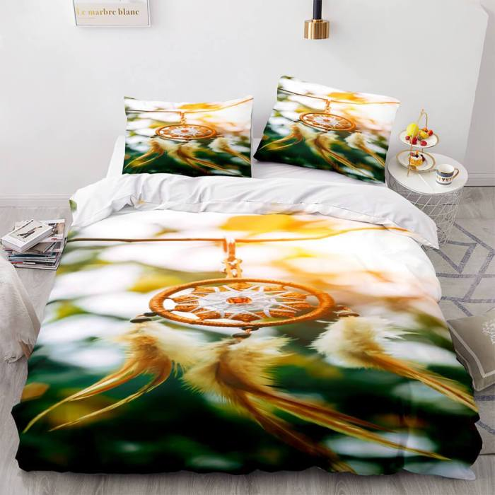 Dreamcatcher Cosplay Bedding Sets Quilt Duvet Covers Bed Sheets