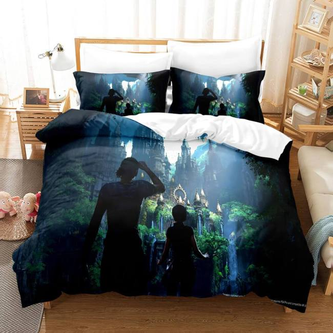 Uncharted Comforter 3 Piece Bedding Sets Duvet Covers Bed Sheets