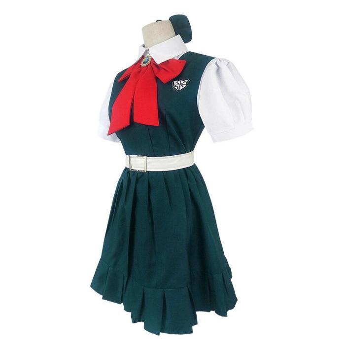 Danganronpa Sonia Nevermind Cosplay Costume Dress Including Headdress Belt Socks Halloween Carnival Funny Costume For Woman