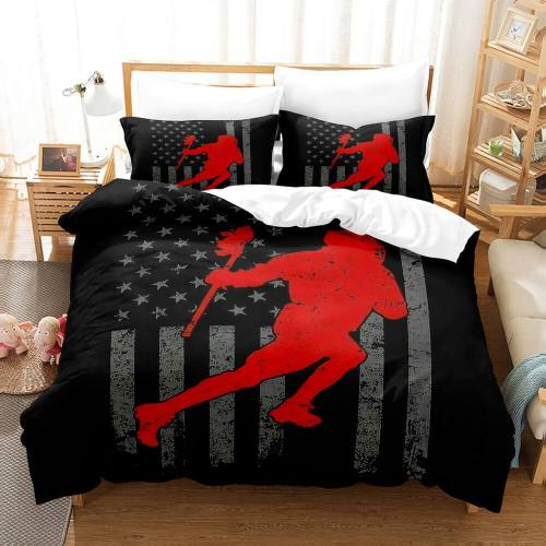 Sports Rugby Bedding Sets Full Duvet Covers Comforter Bed Sheets