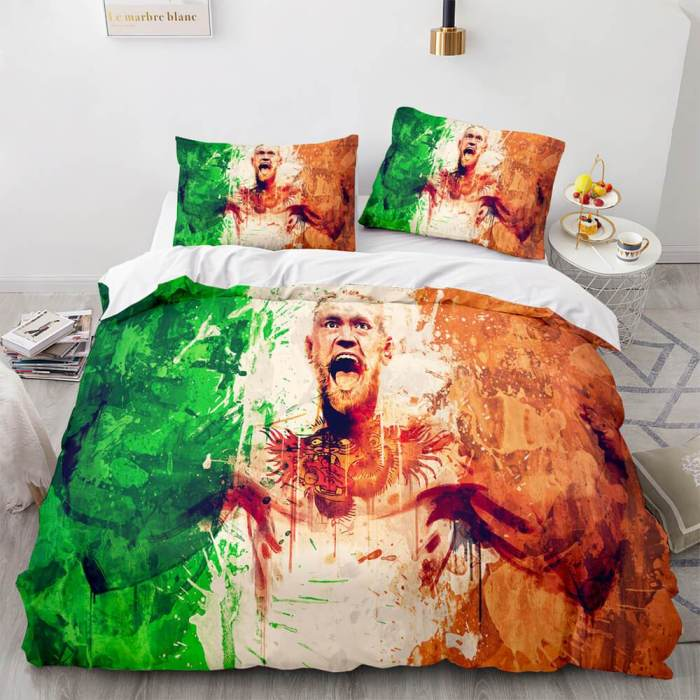 Wwe Raw Cosplay Bedding Sets Soft Duvet Covers Comforter Bed Sheets