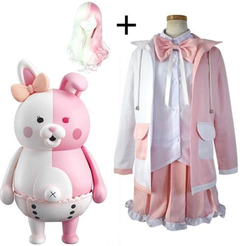 Anime Comic Danganronpa 2:Goodbye Despair Cosplay Costumes Monomi Cosplay Costume Uniforms Clothes Suit Dresses Women Cute Suits