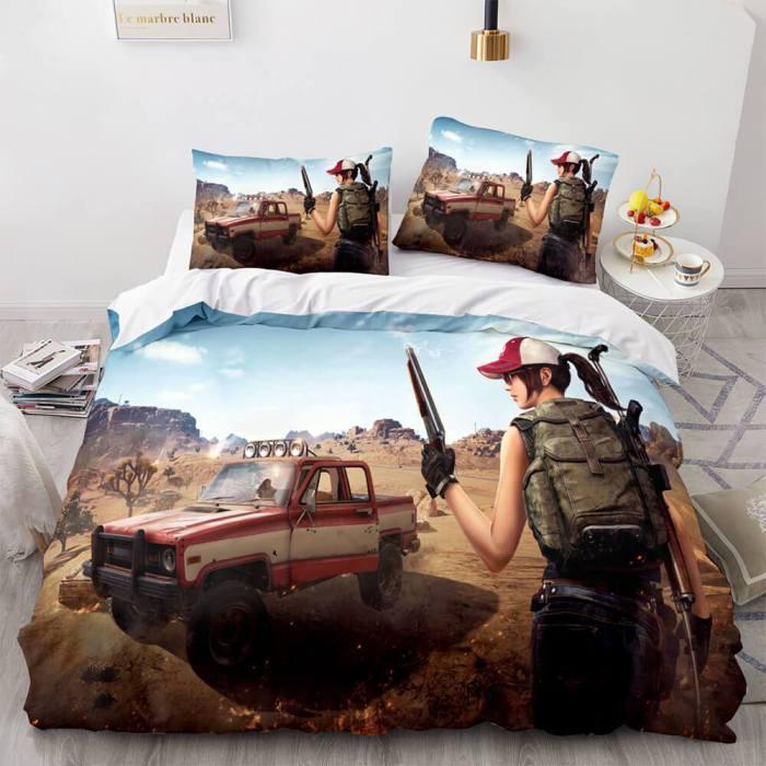 Playerunknown'S Battlegrounds Comforter Bedding Sets Duvet Covers