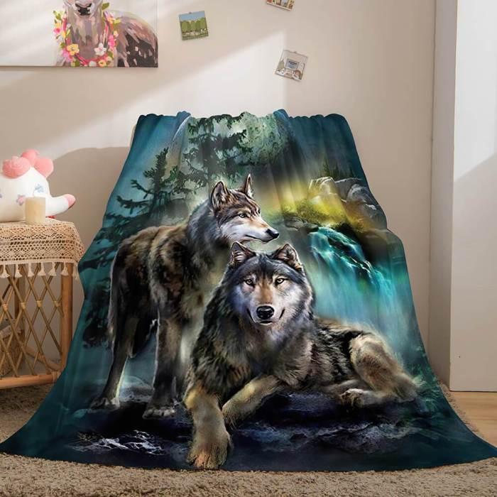 Cute Animals Soft Flannel Fleece Throw Cosplay Blanket Comforter Sets