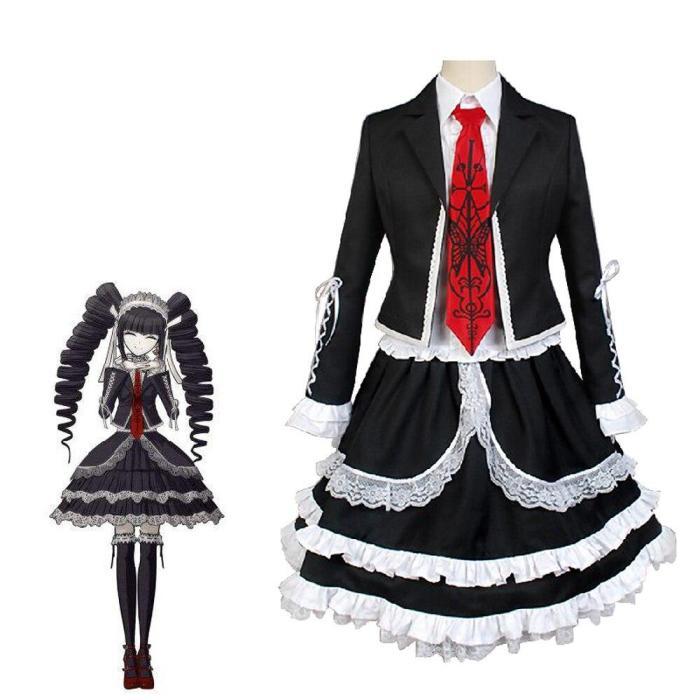 Danganronpa Cosplay Costume Mikan Tsumiki Koizumi Mahiru Yasuhiro Taeko Enoshima Junko Costume Set Halloween Costumes For Women