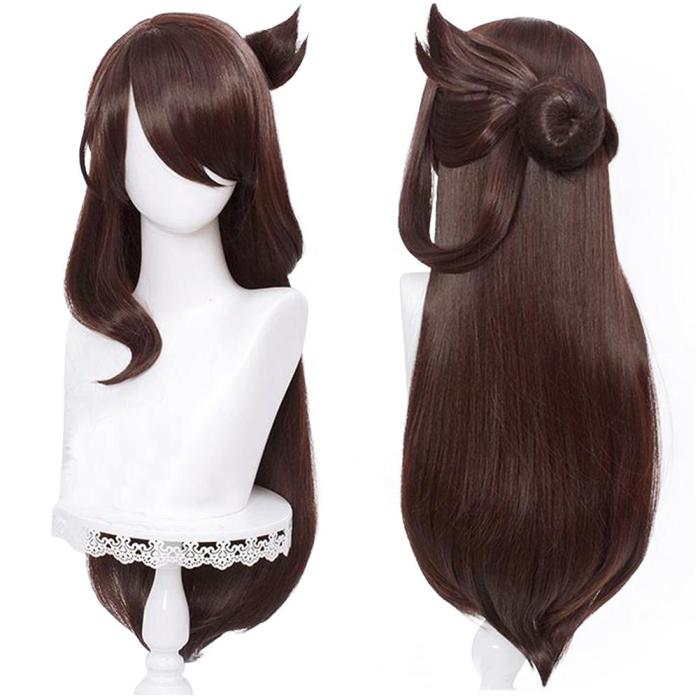 Genshin Impact - Beidou Heat Resistant Synthetic Hair Carnival Halloween Party Props Cosplay Wig
