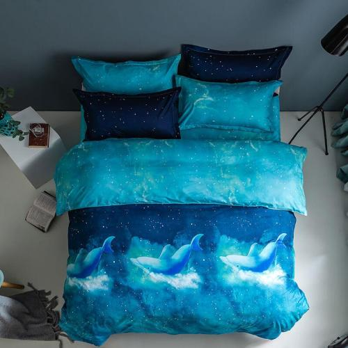 Galaxy Sky Outer Space Comforter Bedding Sets Duvet Covers Bed Sheets