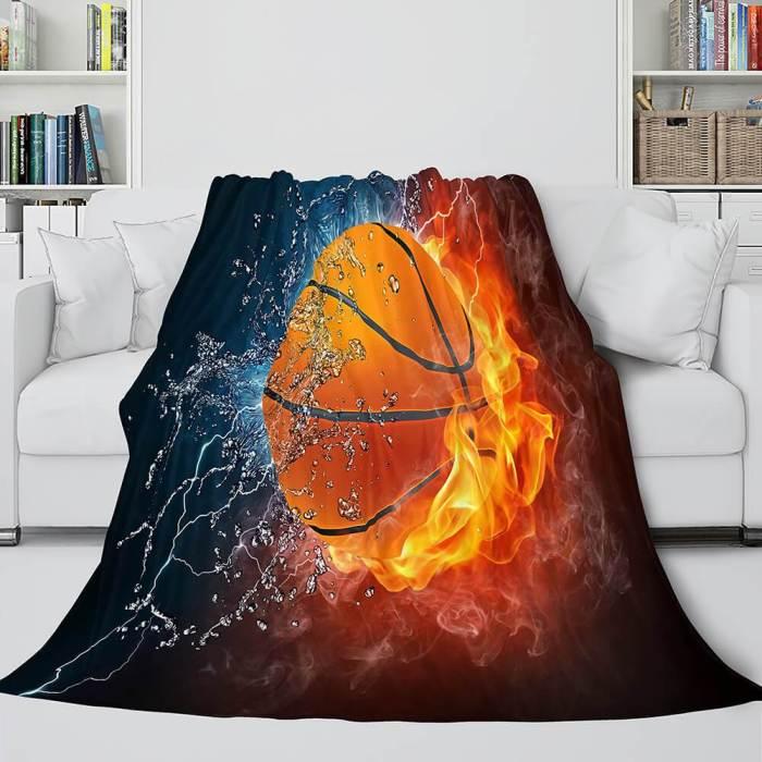 Basketball Team Cosplay Blanket Flannel Fleece Throw Comforter Set