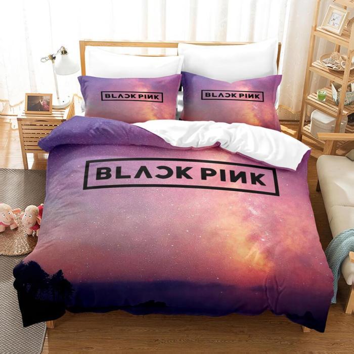 Blackpink Cosplay Comforter Bedding Set Duvet Covers Sets Bed Sheets