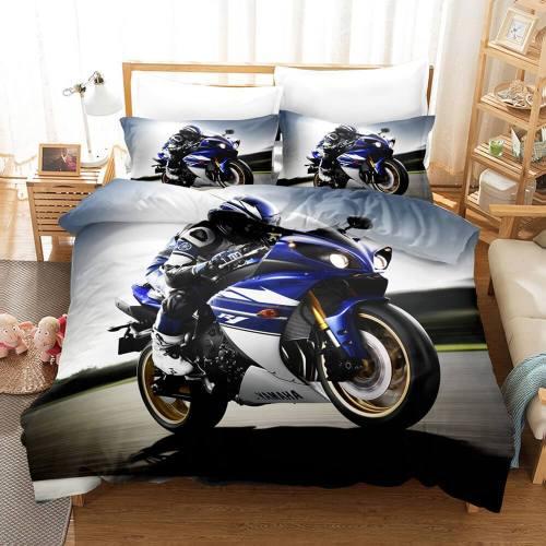 Motocross Dirt Bike Bedding Sets Duvet Covers Comforter Bed Sheets