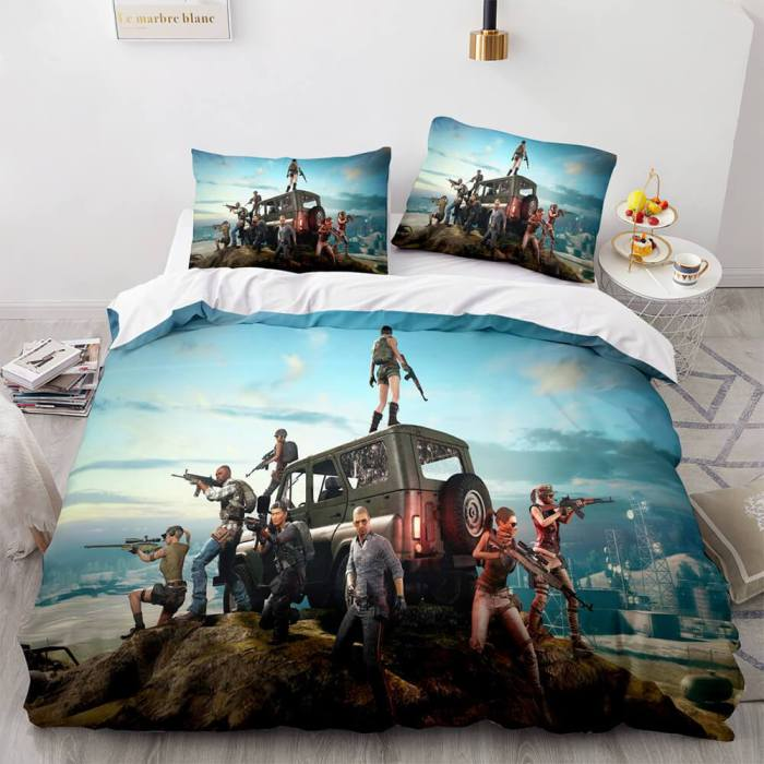 Playerunknown'S Battlegrounds Cosplay Bedding Sets Duvet Covers Sheets