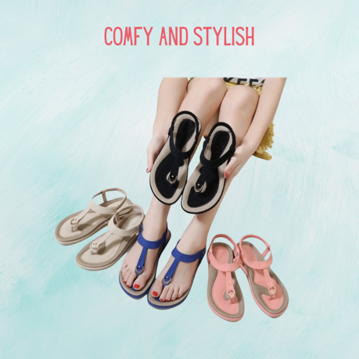 Comfy Casual Slip-On Sandals