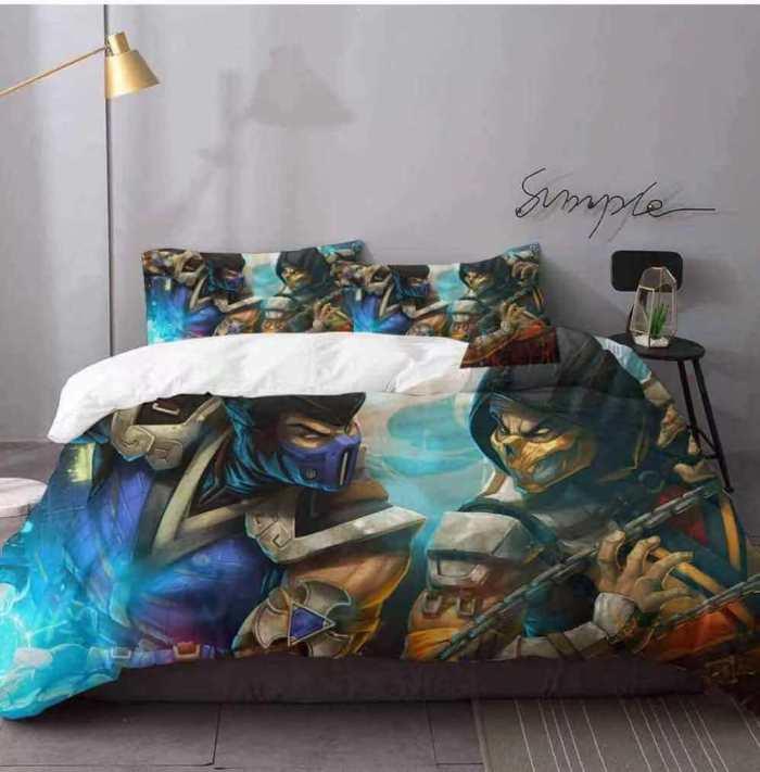 My Hero Academia Cosplay Bedding Set Duvet Cover Comforter Bed Sheets