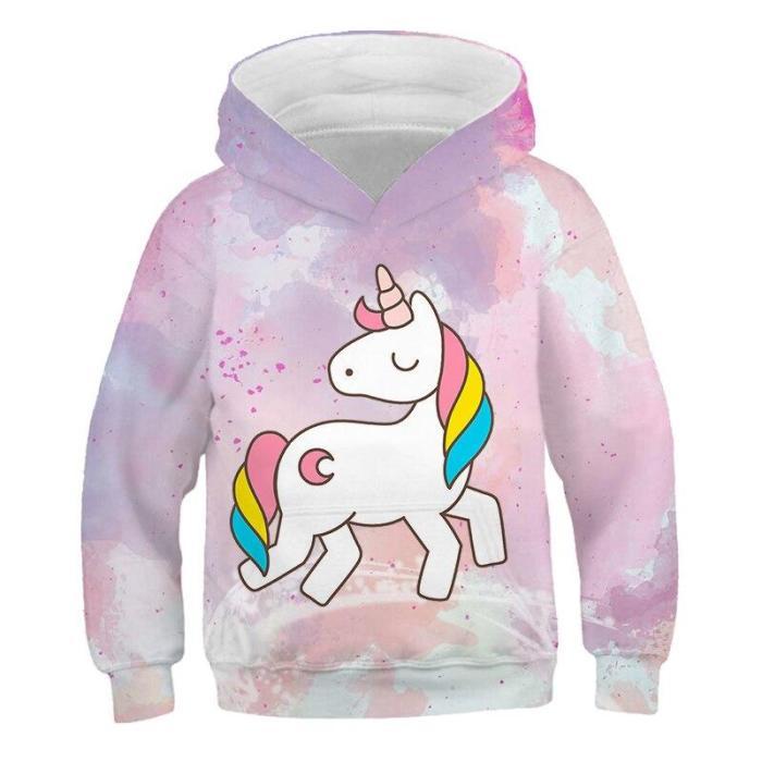 Girls Jackets My Children 3D Hoodies Sweatshirt Baby Little Pony Clothing Boys Spring Autumn Coat Kids Casual Hoodie Outwear