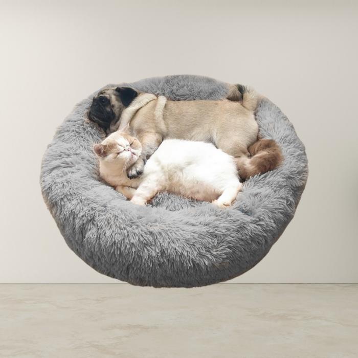 Calming Soft Faux Fur Pet Beds