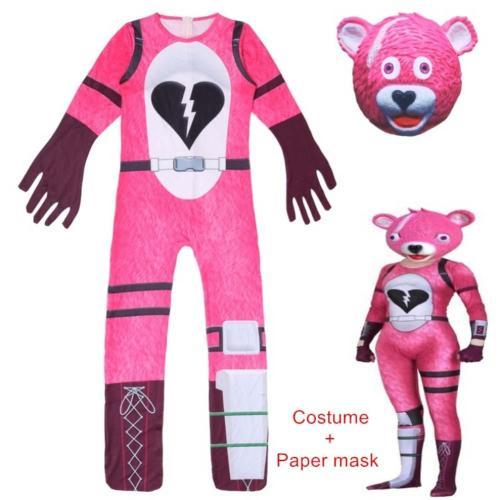 Fantasia Mardi Gras Girl Clothing Set   Kids Costume Girls Battle Royale Clothes Set Fortress Children Halloween Costumes