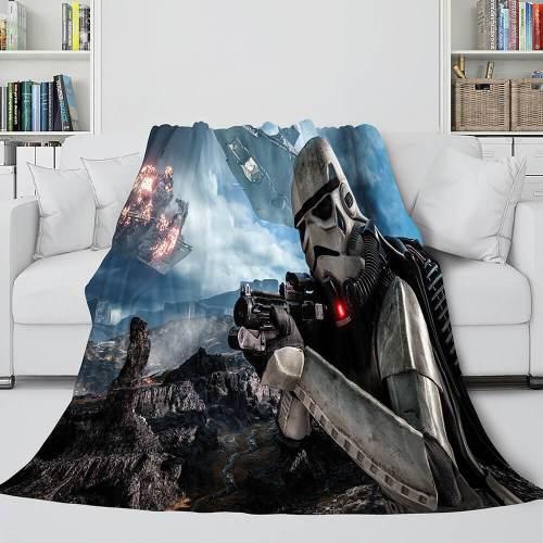 Star Wars Series Flannel Fleece Throw Cosplay Blanket Comforter Set