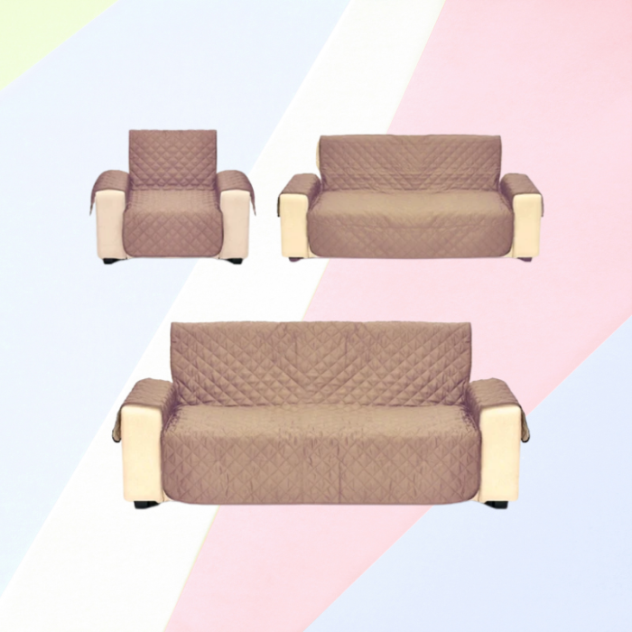 Waterproof Super Soft Quilted Sofa Covers