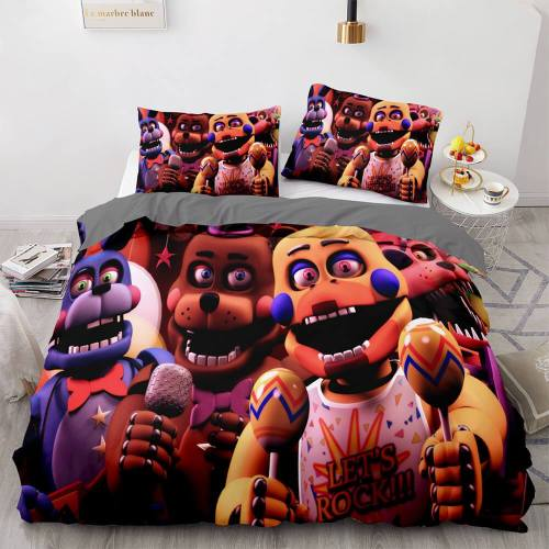 Five Nights At Freddy'S Cosplay Bedding Sets Duvet Covers Bed Sheets
