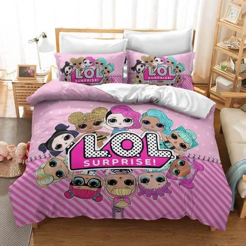 L.O.L Surprise Cosplay Bedding Sets Duvet Covers Comforter Bed Sheets