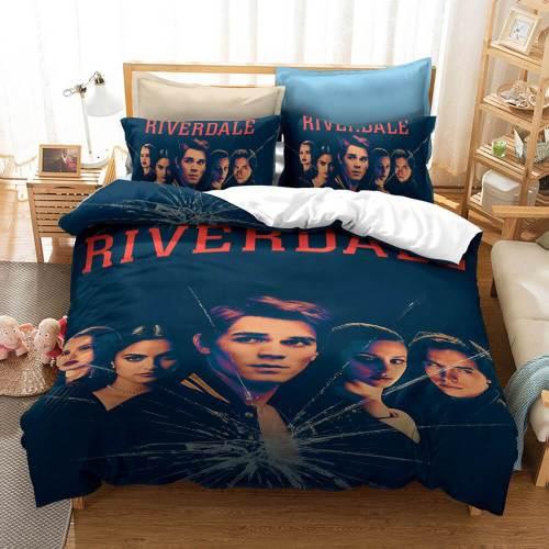 Riverdale Tv Cosplay Bedding Set Duvet Covers Comforter Bed Sheets