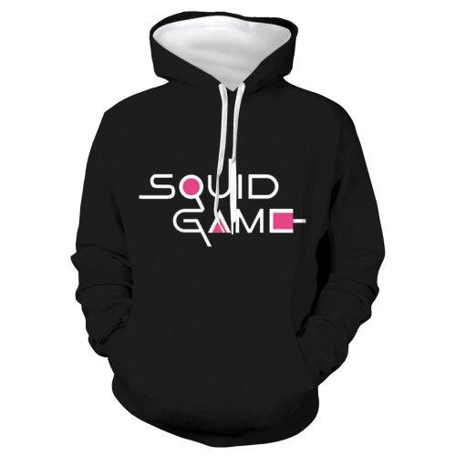 Squid Game Tv Round Six 2 Unisex 3D Printed Hoodie Pullover Sweatshirt