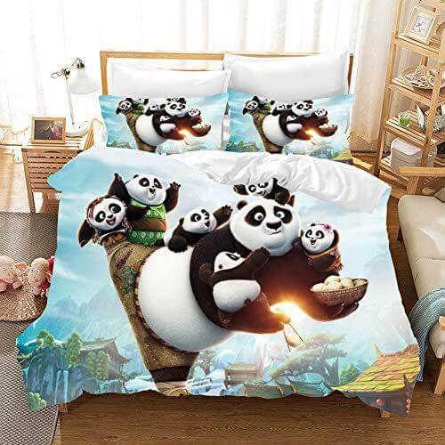 Cartoons Animation Bedding Sets Duvet Cover Comforter Bed Sheets