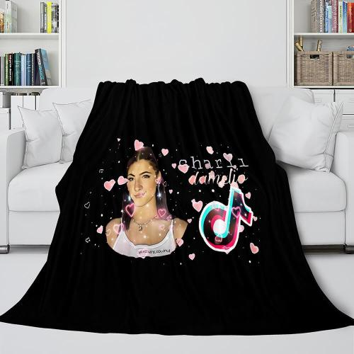Tiktok Blanket Tik Tok Flannel Fleece Throw Cosplay Blanket
