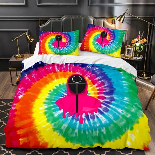 Squid Game Cosplay Bedding Sets Duvet Covers Comforter Bed Sheets