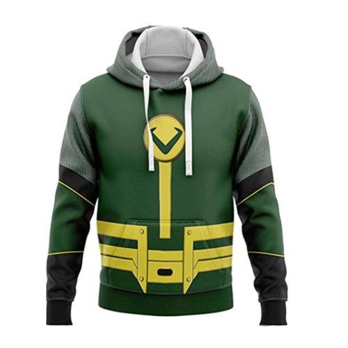Loki Laufeyson Odinson God Of Evil Lies Movie Green Cosplay Unisex 3D Printed Hoodie Sweatshirt Pullover