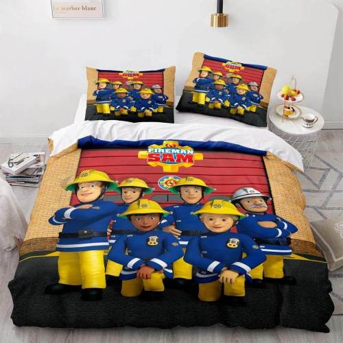 American Classic Cartoon Animation Bedding Set Duvet Covers Bed Sheets