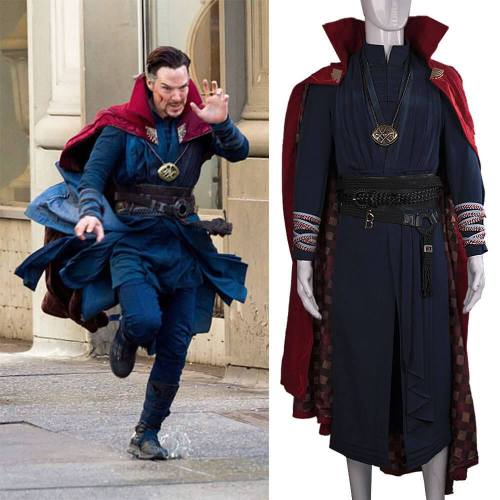 Doctor Strange Cosplay Stephen Strange Costume Halloween Party Outfit