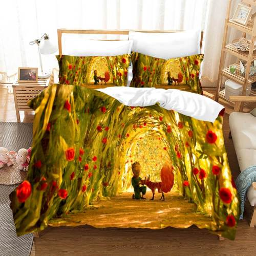 Le Petit Prince Cosplay Bedding Set Duvet Covers Comforter Bed Sheets