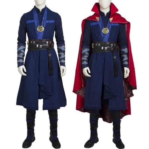 Doctor Strange Cosplay Stephen Dr. Strange Costume Full Set Suit