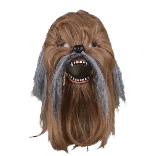 Star Wars Chewbacca Cosplay Helmet Mouth Movable Mask Halloween Prop