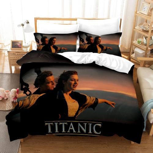 Titanic Jack And Rose Bedding Set Duvet Covers Comforter Bed Sheets