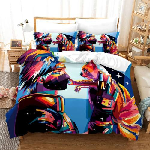 Naruto Shippuden Ultimate Ninja Storm 4 Cos Duvet Covers Bedding Set