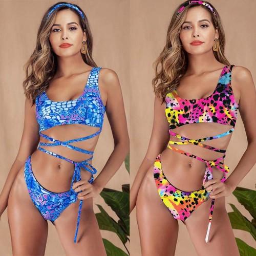 Print Swimwear Set