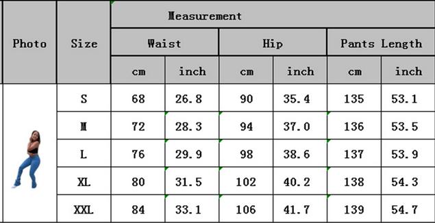 Women Micro-elasticity Denim Pile Pants