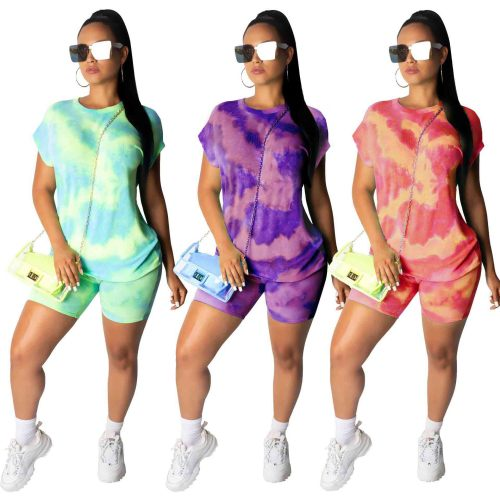 Multi-Color Casual Shirt and Shorts