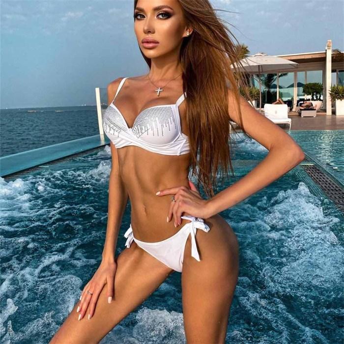 Sexy Push Up Bikini Woman Swimwear 2020