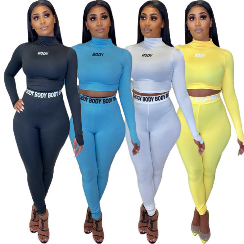 body two-piece yoga clothes